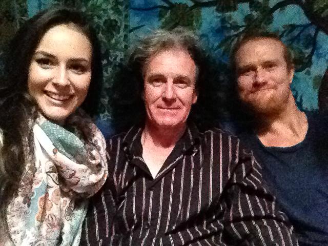 Nina Baumer, Bryan Zee and Mr Drum